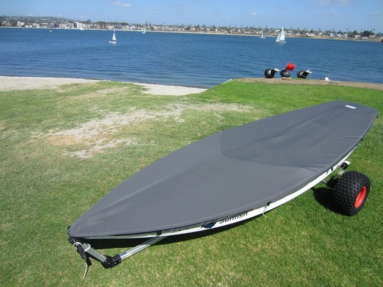 SUNFISH SAILBOAT TOP COVER - BOAT DECK COVER