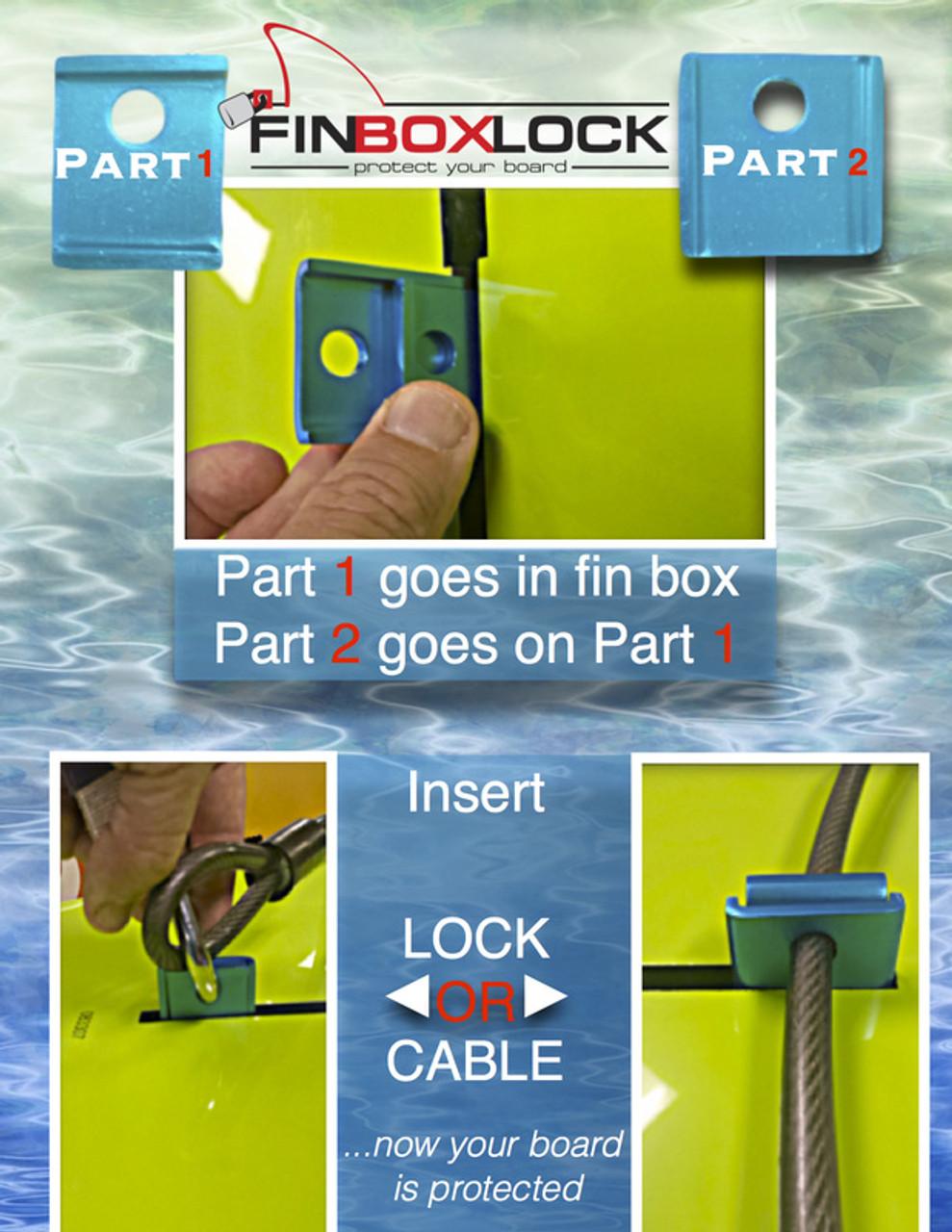 Fin Box Lock