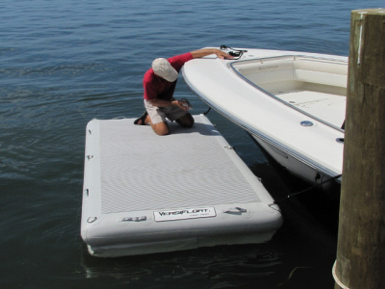 "Versifloat 5' x 10' x 8"" Platform (Double chambered)"