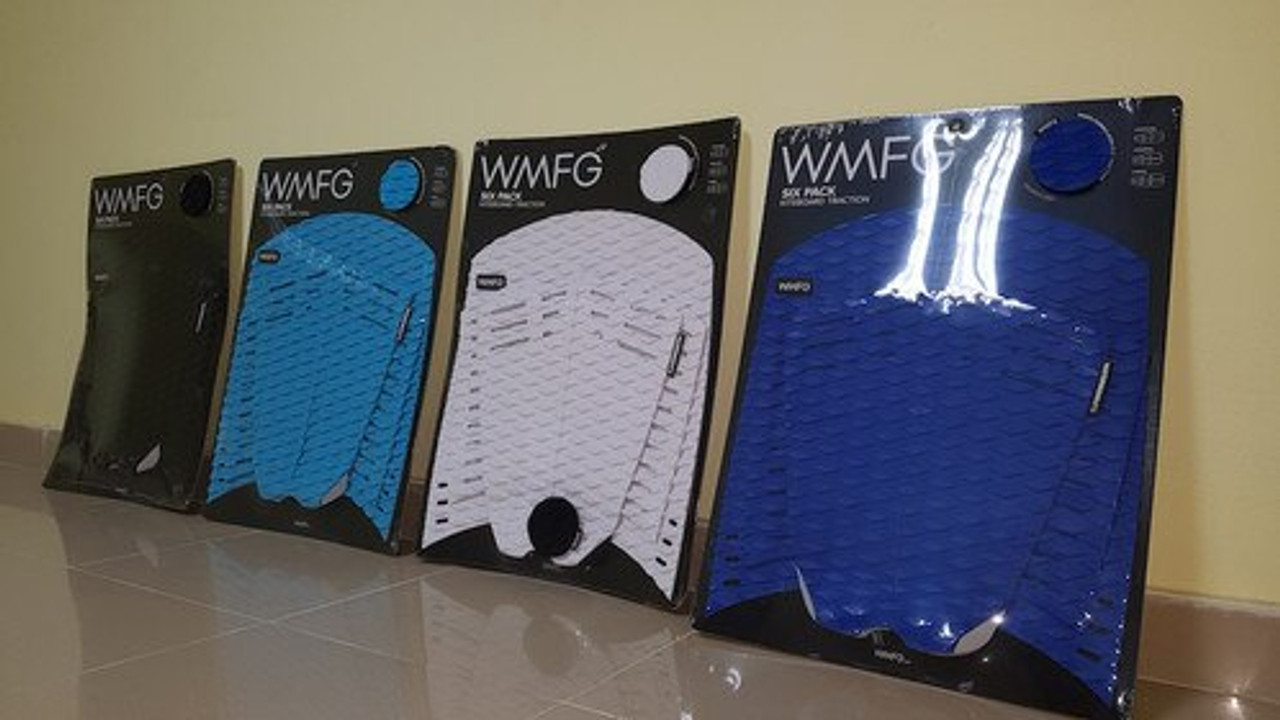 WMFG TRACTION: Stubby Six Pack Kiteboard Deck Diamond Pattern