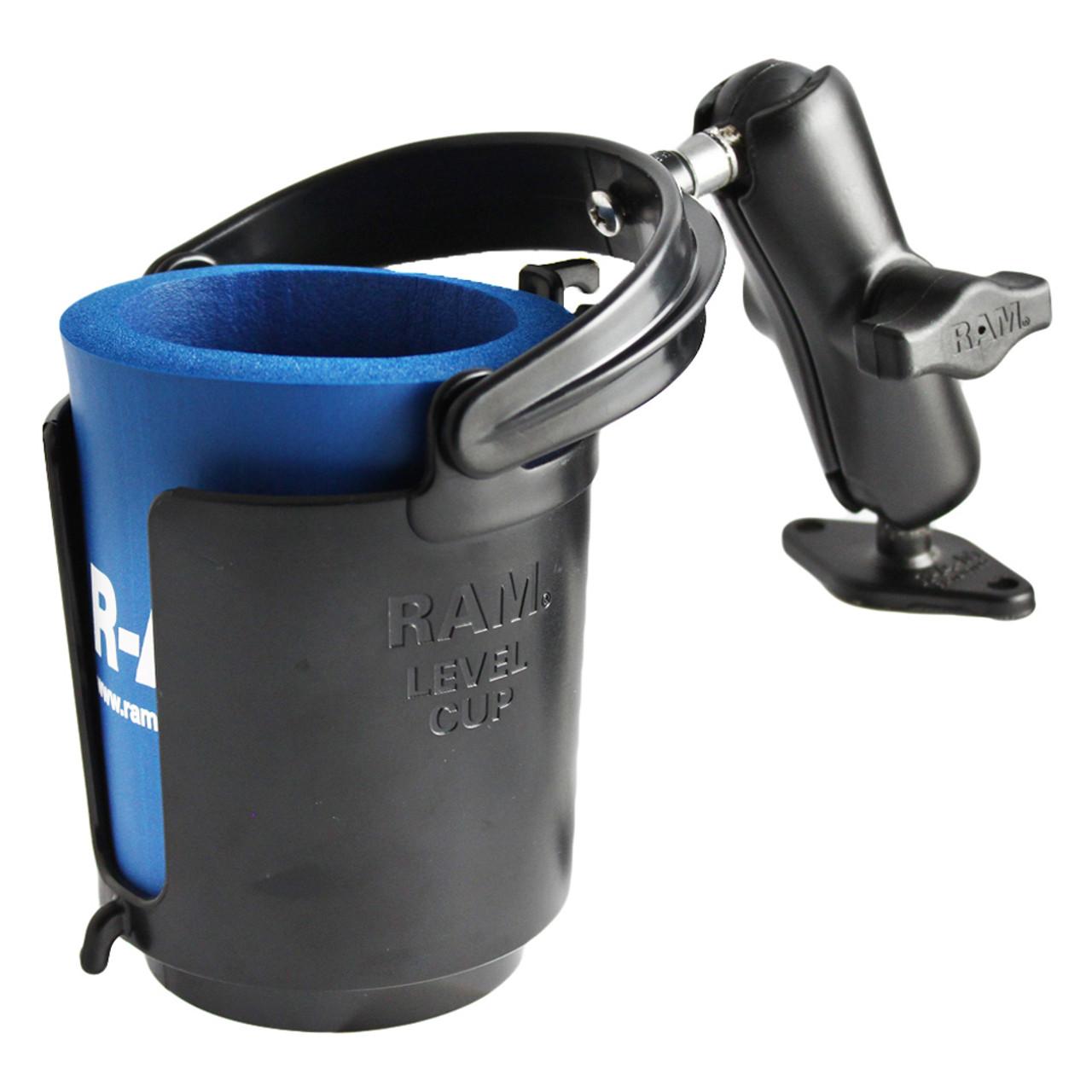 Ram Mount RAM-B-132-309U Drink Cup Holder W//Goldwing
