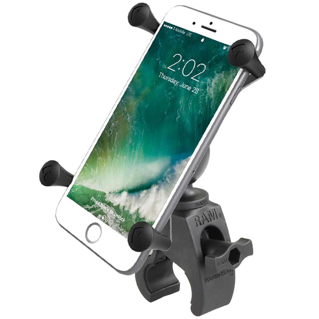 RAM Mount RAM X-Grip Large Phone Mount w\/RAM Snap-Link Tough-Claw [RAM-HOL-UN10-400U]