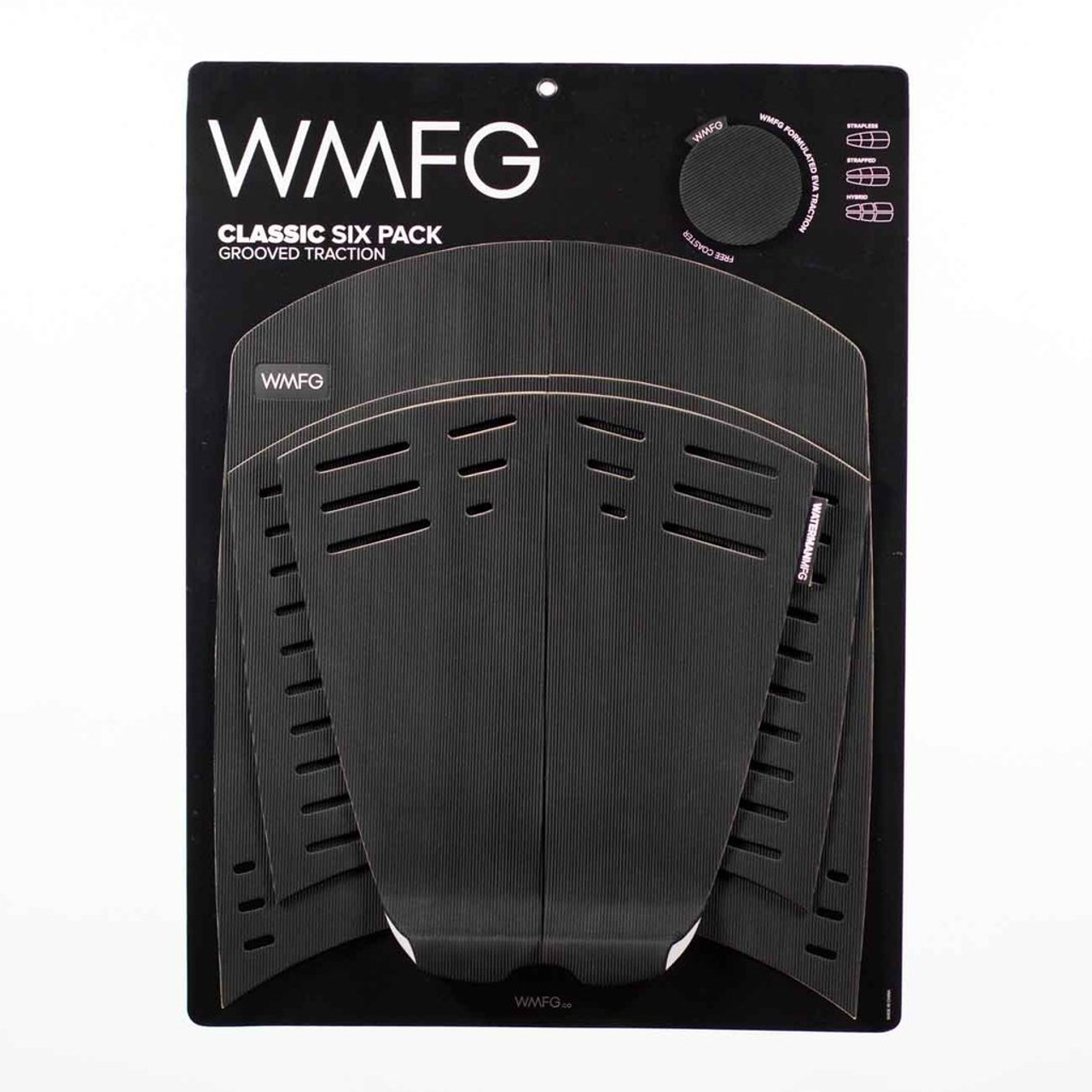 WMFG TRACTION: Six Pack Kiteboard Deck Pad Grooved