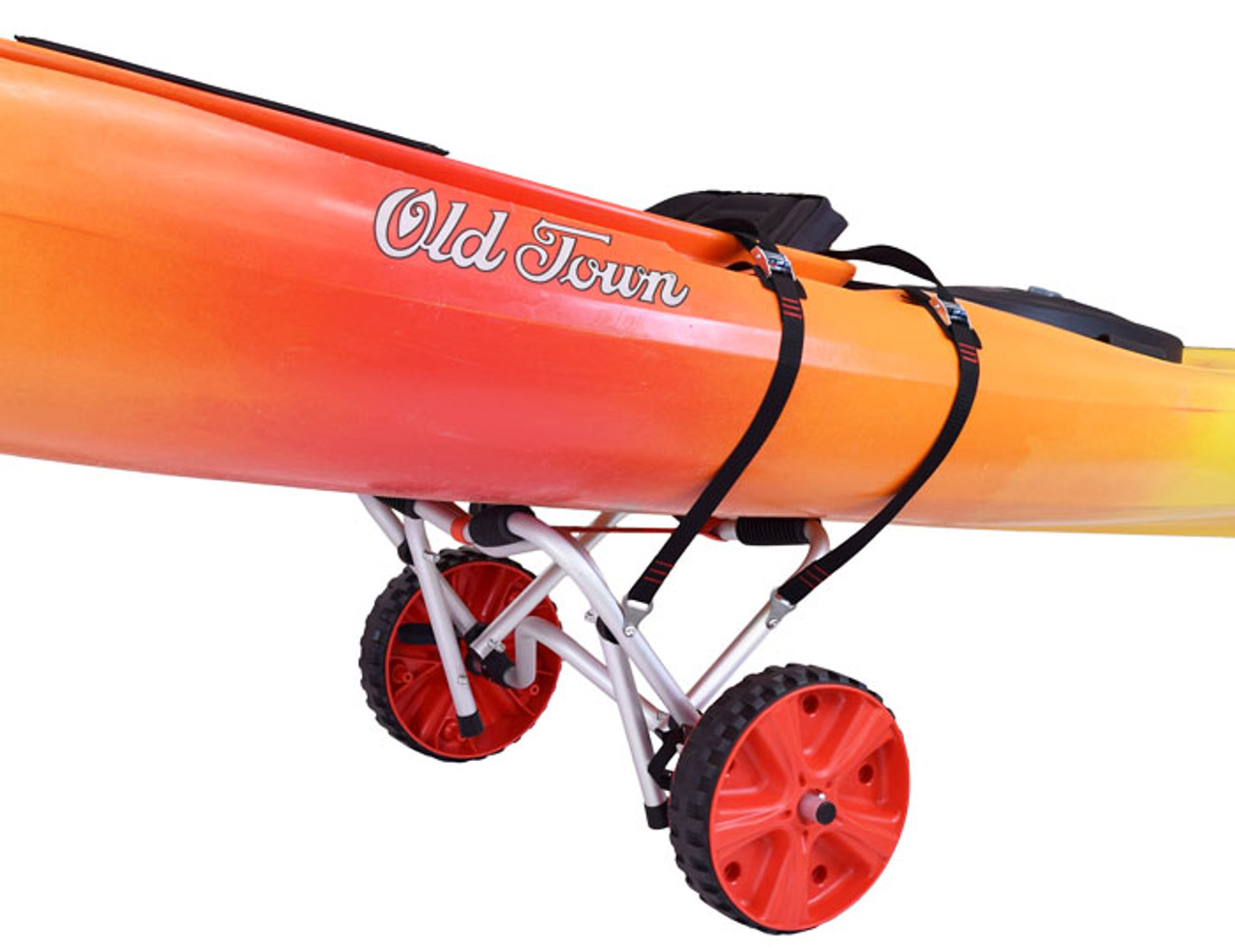 Clipper TRX Deluxe Kayak/Canoe Cart- No-Flat Tires (MPG522)