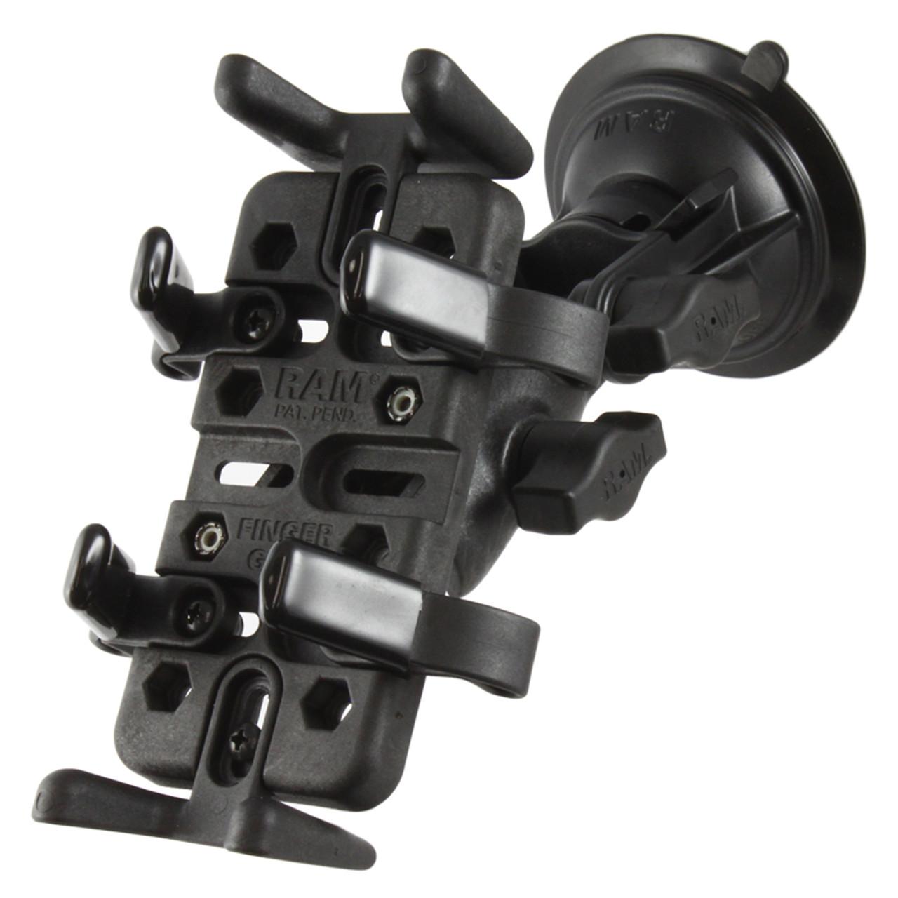 RAM Mount RAM Finger-Grip Universal Mount w\/RAM Twist-Lock Suction Cup [RAP-B-104-224-UN4U]