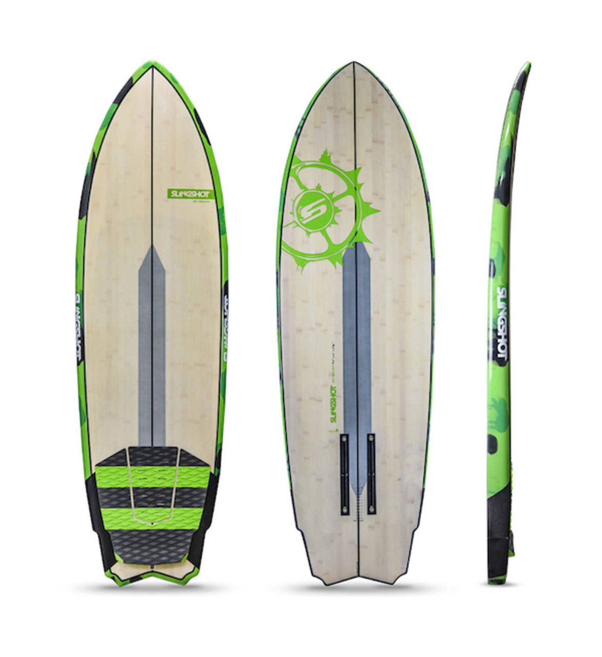 SURF FOIL PACKAGE Slingshot Skywalker + Ride Engine Futura 76cm Surf Foil