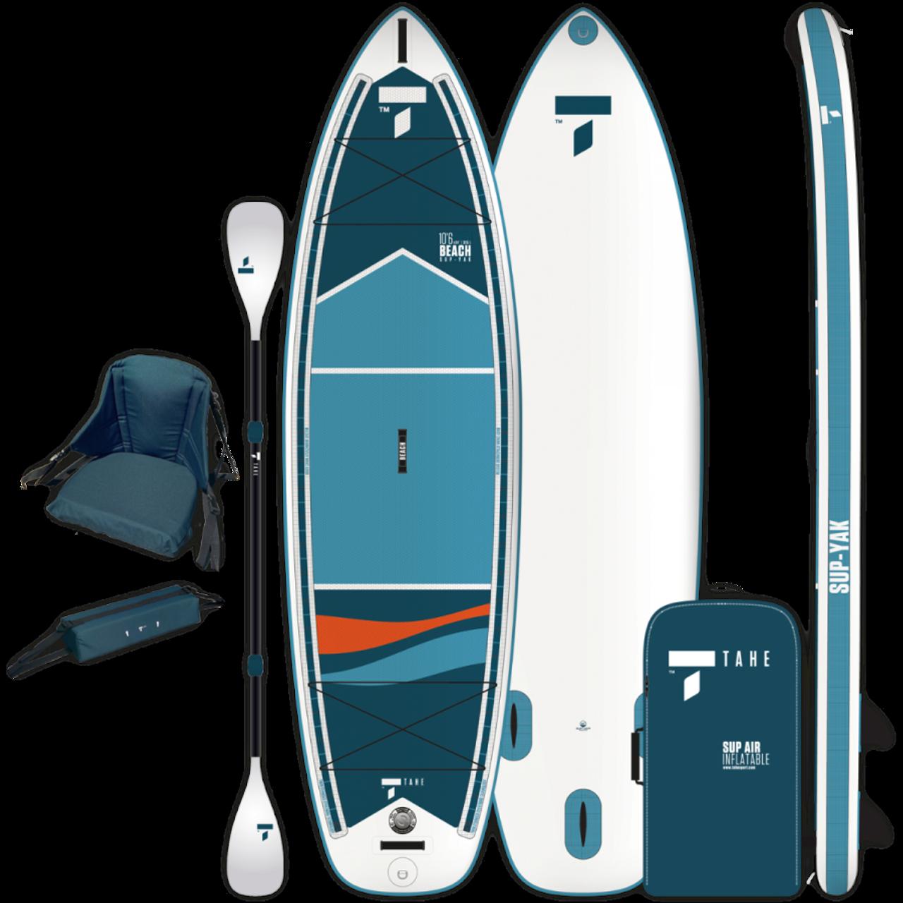 "10'6"" BEACH SUP-YAK + KAYAK KIT"
