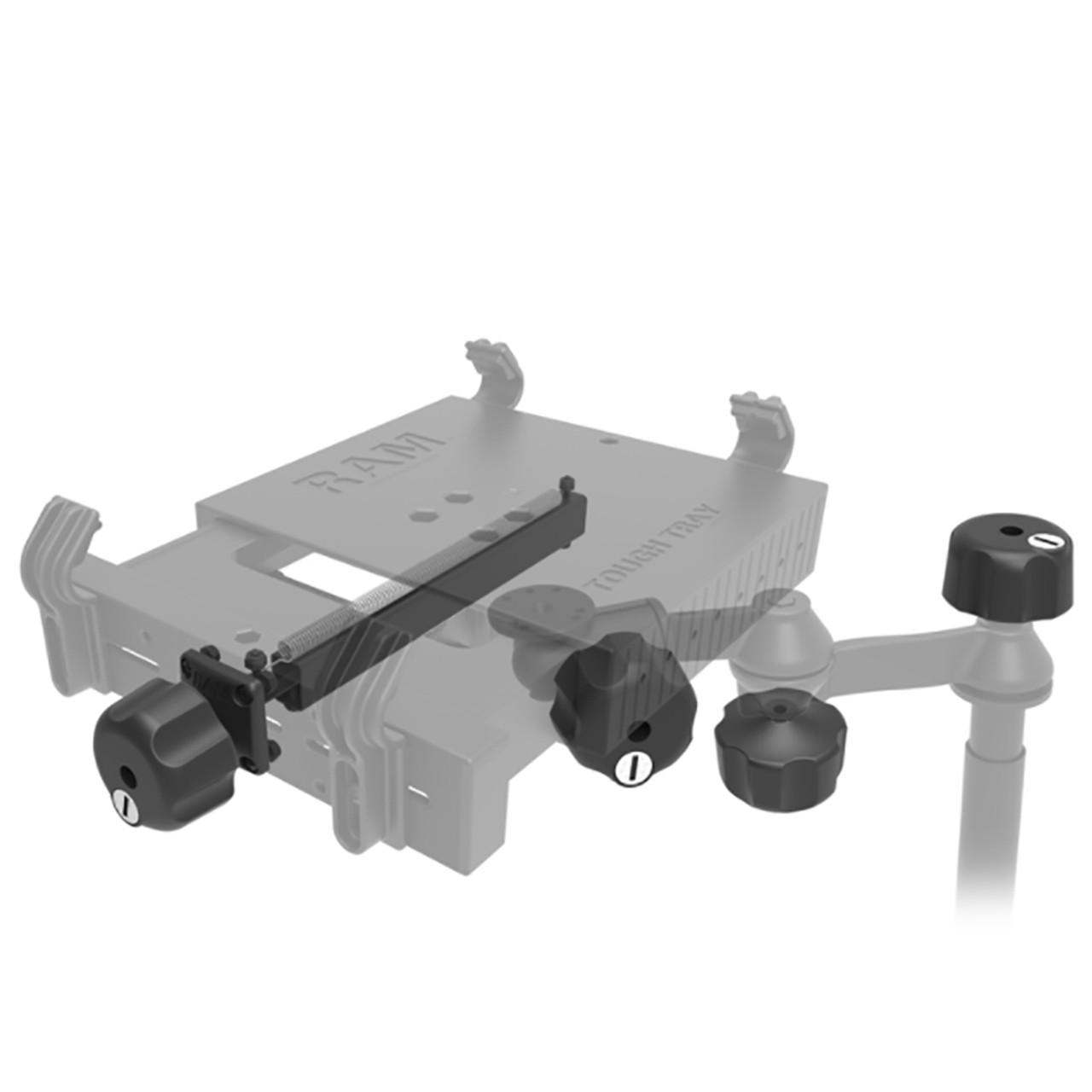 RAM Mount RAM Safe-N-Secure Locking Kit f\/RAM Tough-Tray  Swing Arms [RAM-234-LKU]