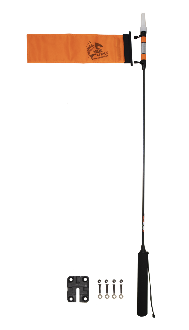 VISIPole II™, GearTrac™ Ready, Includes Flag and Mighty Mount (V2FM-FPG+MMH)