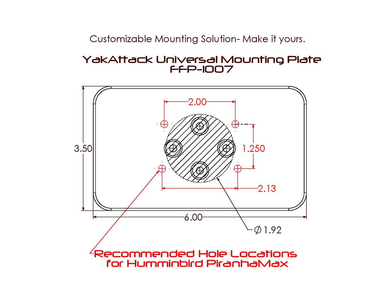 Universal Mounting Plate (FFP-1007)