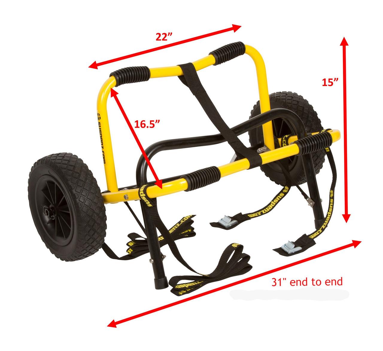 Heavy Duty Airless Cart (Mid-V™ & Flat Platform)
