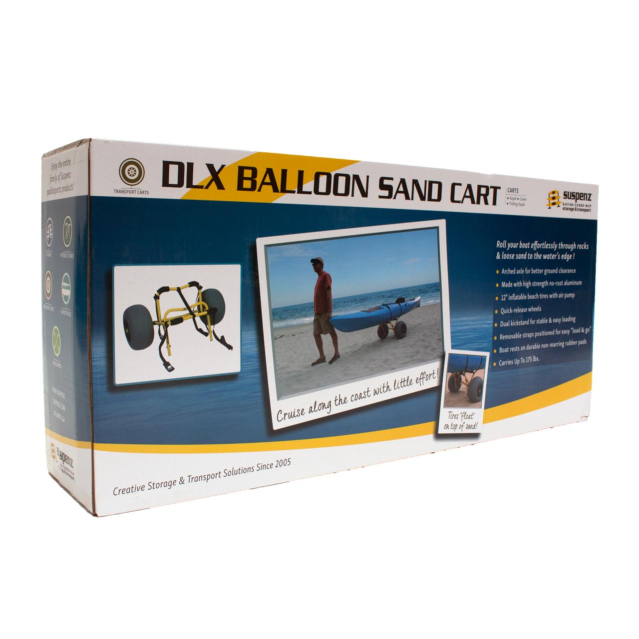 DLX Beach Cart (Mid-V™ & Flat Platform)