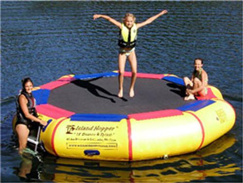 The Island Hopper Bounce N Splash 13'