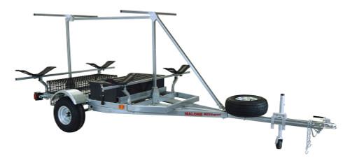 MegaSport 2-4 Kayak Trailer Pkg (Spare Tire, 2nd Tier, 2 Sets MegaWings, Storage Basket & Drawer) (MPG550-TM)