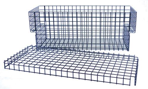 MegaSport Wire Basket with Hrdwr (MPG547)