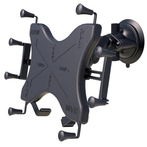 "RAM Mount Twist-Lock Suction Cup Mount w\/Universal X-Grip Cradle for 12"" Large Tablets [RAM-B-166-UN11U]"
