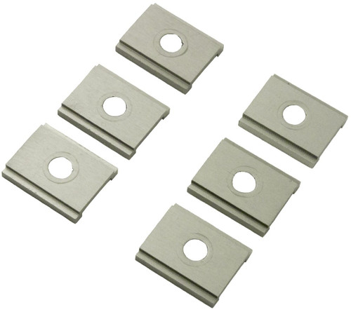 YakAttack FeelFree UniTrack Adapter - 6 Pack, Adapter Plate Only