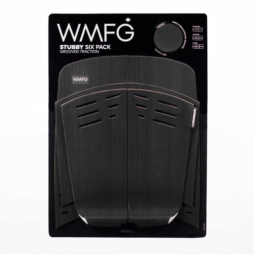 WMFG TRACTION: Stubby Six Pack Kiteboard Deck Pad Grooved