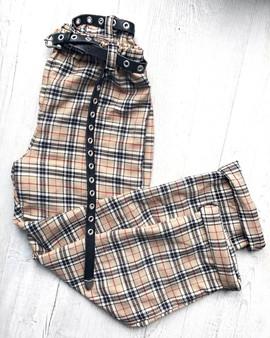 Check me out tartan trousers