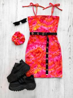 DAYDREAMER tube dress