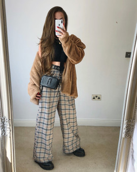 House Party edit wide leg high waisted trouser