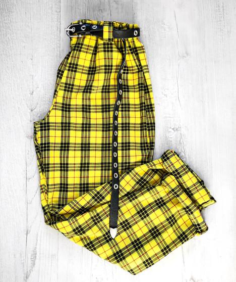Check Me Out! Tartan trouser