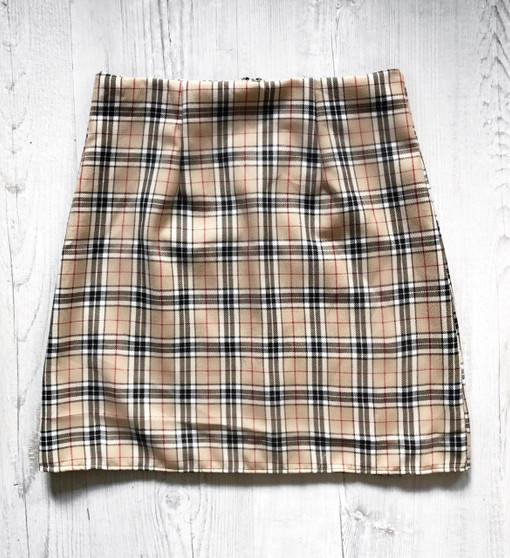 Check Me Out Tartan skirt