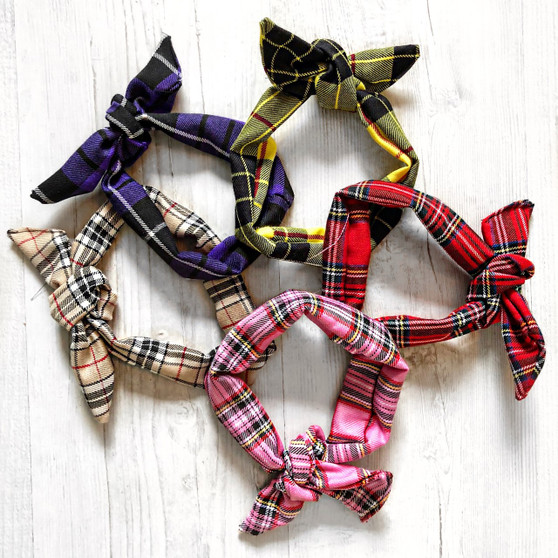 Check Me Out! Tartan headband