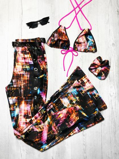 METRO 2 Piece Flares & bikini top - SONIC