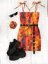 *NEW* ART ATTACK tube mini dress