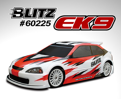 BLITZ EK9 1/10th 190mm Touring Car Body-shell