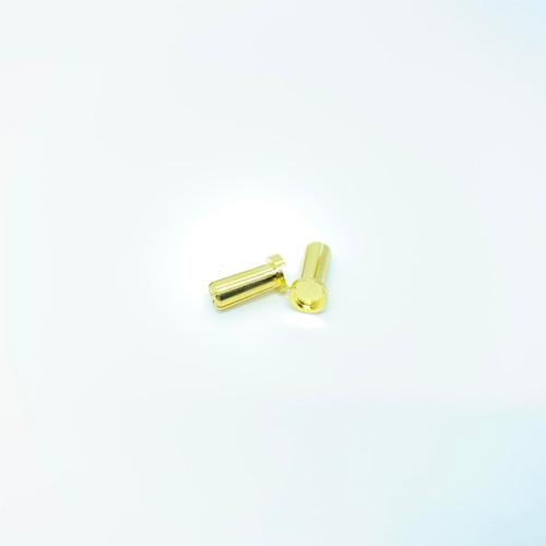 Maclan Max Current 5mm Low Profile Gold Bullet Connectors (2pcs)