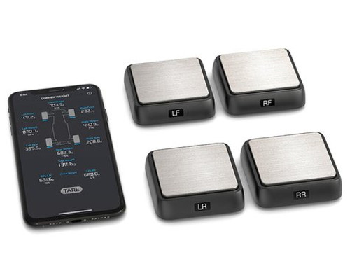 SkyRC SCWS2000 Bluetooth Corner Weight Scale System w/4 Scales