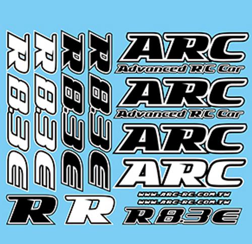 ARC R8.3E Decal