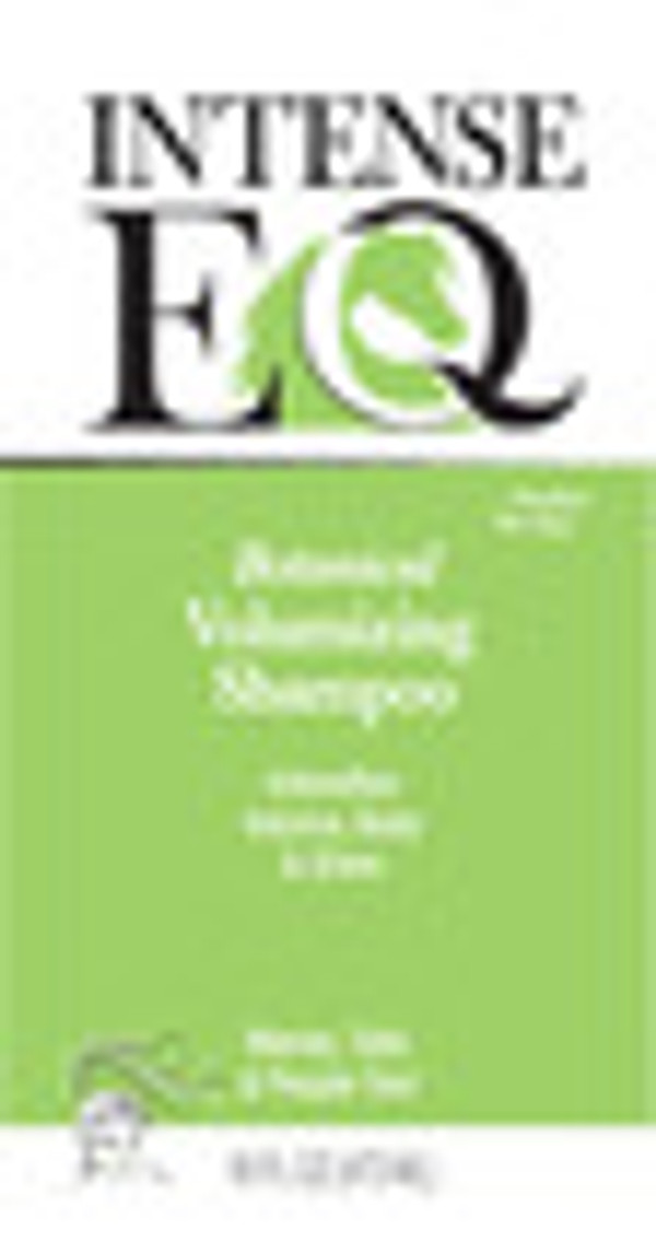 IntenseEQ Botanical Volume Shampoo Front Label