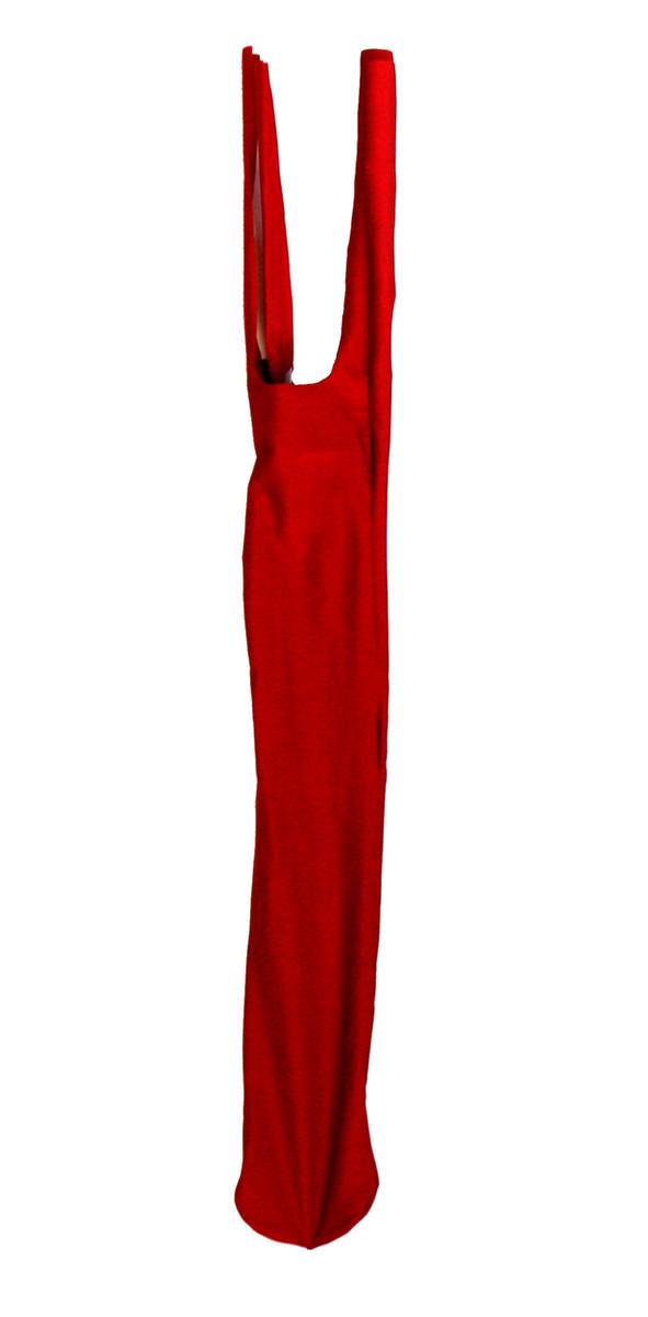 Solid Sleazy Lyrca Tie Tail Bag