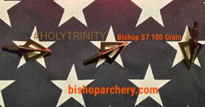 100 GRAIN BISHOP VENTED #HOLYTRINITY THREE-PACK