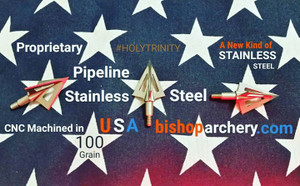 BACK IN STOCK!!!  100 GRAIN VENTED PROPRIETARY PIPELINE SR STAINLESS STEEL #HOLYTRINITY