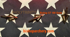 100 GRAIN BISHOP VENTED #HOLYTRINITY THREE-PACK