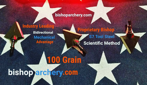 100 GRAIN BISHOP S7 TOOL STEEL SCIENTIFIC METHOD