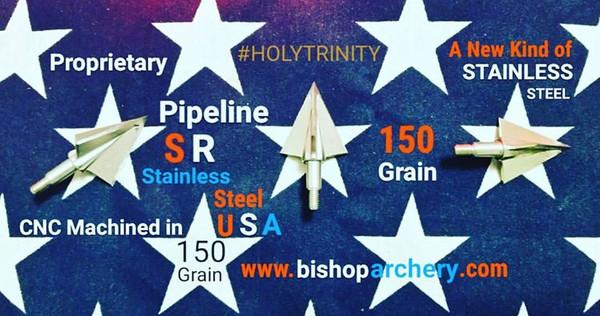 150 GRAIN NON-VENTED PROPRIETARY PIPELINE SR STAINLESS STEEL #HOLYTRINITY