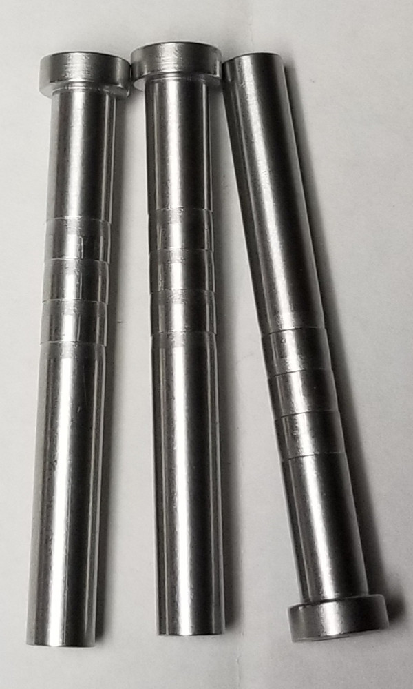 3 LIFETIME WARRANTY 110 GRAIN PROPRIETARY MAMMOTH SR STAINLESS STEEL HEAT TREATED MACHINED INSERTS FOR ALL .244 & .2445 ID SHAFTS
