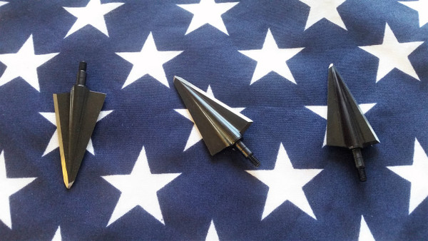 315 GRAIN PATENT PENDING BRIDGEPORT BROADHEADS MACHINED 41L40 TOOL STEEL SCIENTIFIC METHOD BY BISHOP ARCHERY