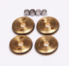 FP2128 FP 1/10 12mm 2-Hole Brass Pistons 2 x 1.5mm (Set of 4)