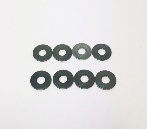 H0181B-G 3mm Alum Spacer 1.0mm Thick Gray (8pcs)