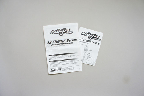 JX19005 Ninja JX21-B03 Instruction Manual