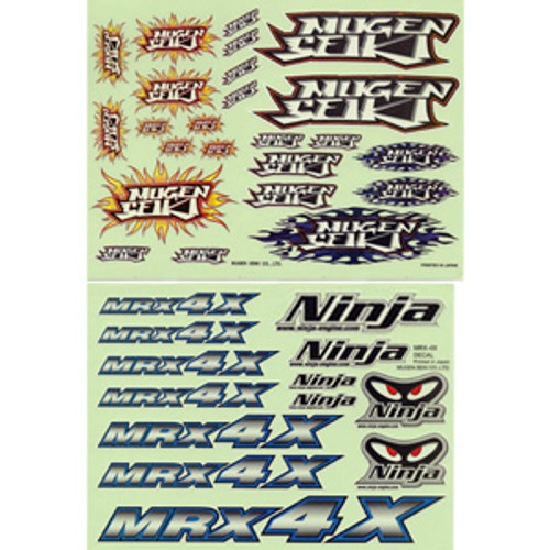 H0087 MRX4X Decal Sheet