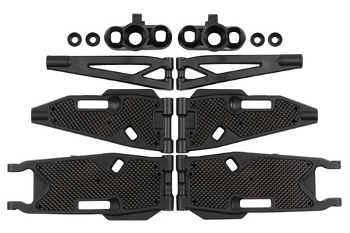 M1016  MBX8T/E Truggy F/R Arm & Carbon Stiffener Refresh Kit