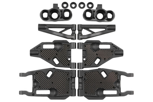 M1018 MBX8/8E Buggy F/R Arm & Carbon Stiffener Refresh Kit