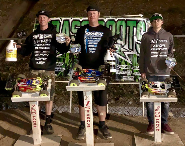 Mugen Seiki Racing would like to congratulate Adam Drake for winning nitro buggy, electric buggy and nitro truck at round 3 of the GRRS at Palm Desert Raceway!